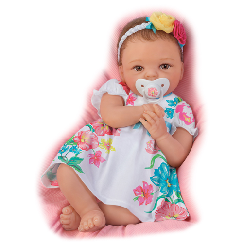 Pretty and Petite Presley Silicone Baby Doll